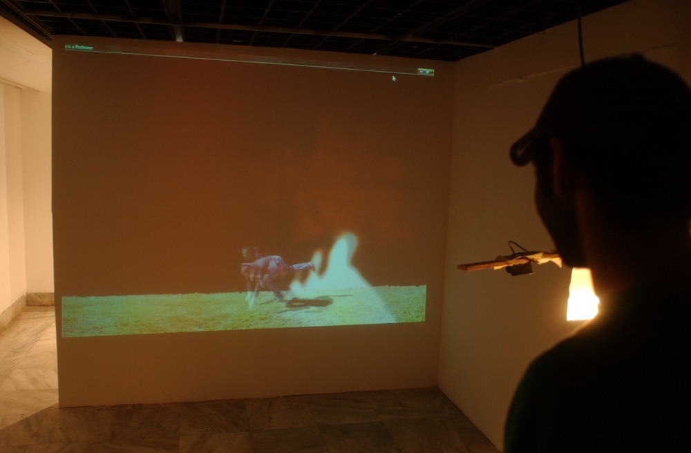 Max is a Pushover Installation View